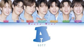 A - GOT7 (갓세븐) [Color Coded Lyrics/가사 HAN|ROM|SUB INDO]