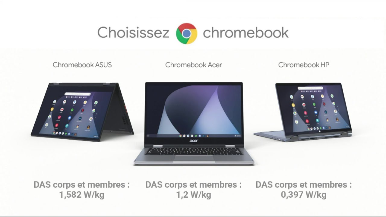 """Musique pub Chromebook """"choisissez une nouvelle génération d'ordinateurs""""  juillet 2021"""