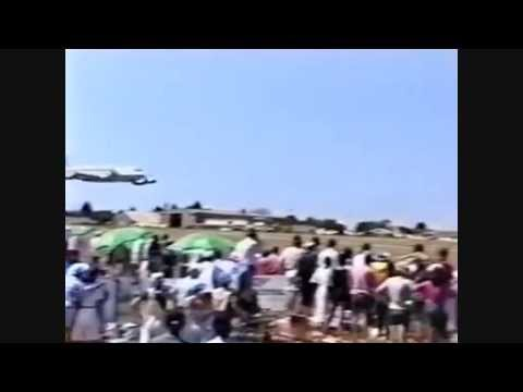 1995 ZIM airshow Low pass Air Zimbabwe Mashonaland Flying club