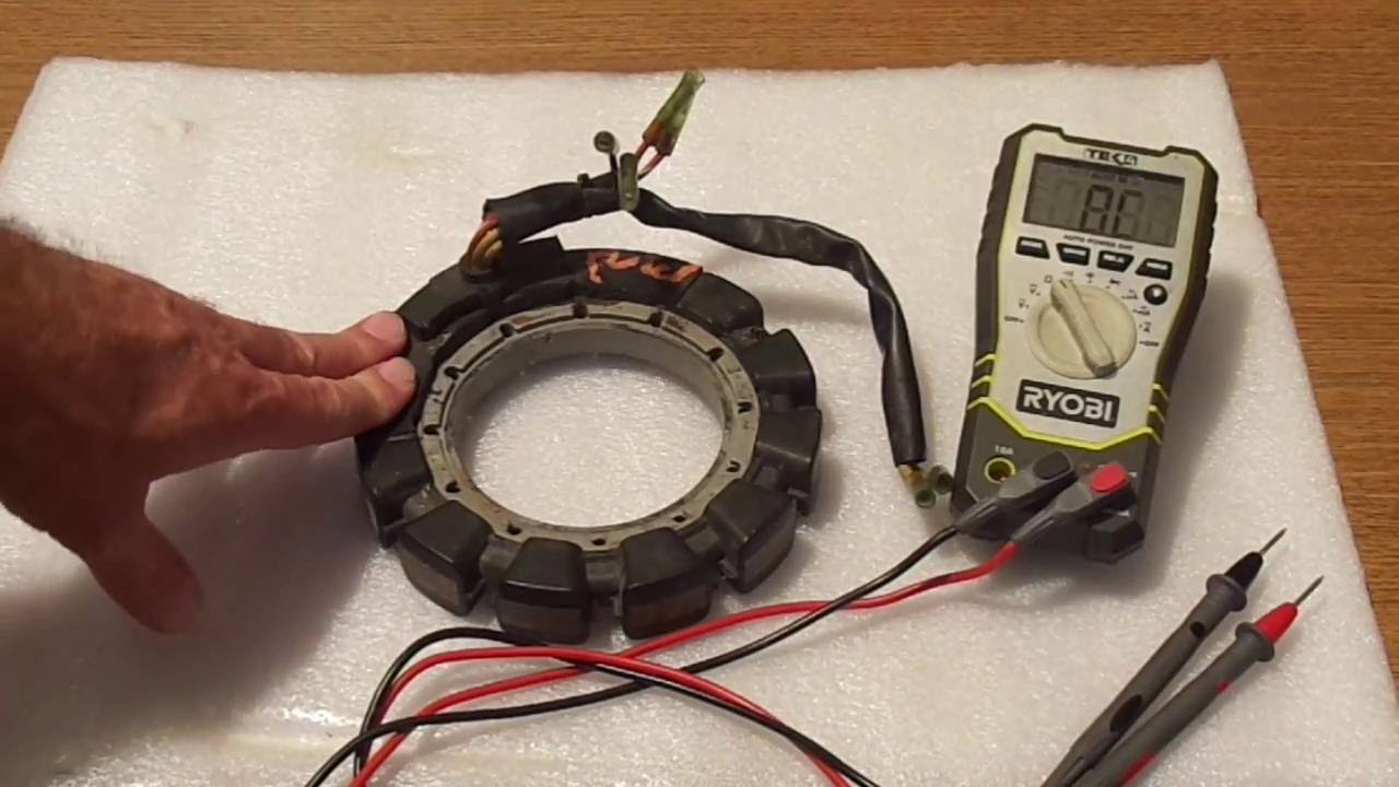 How to test stator  YouTube