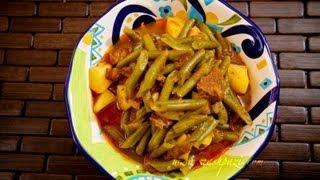 Green Beans Stew (khoresht Loobia Sabz) Recipe