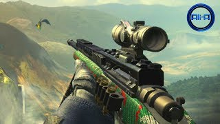 "Call of Duty GHOSTS - ""CHRISTMAS"" Camo Gameplay! (FREE DLC)"