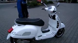 HC Anleitung: Vespa GTS 300 Super 2010 Roller