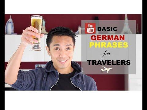 Basic German Phrases for Travelers- VLOG