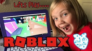 The Ari Show Episode 14: Let's Play ROBLOX!
