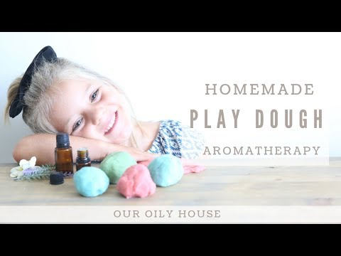 DIY Aromatherapy Play Dough Recipe