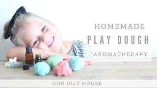 DIY Aromatherapy Play Dough Recipe