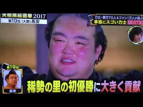 Top 30 Sumo Wrestlers - #19 to #15