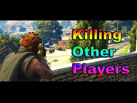 Gta 5 Online 2v1 Killing Other Players