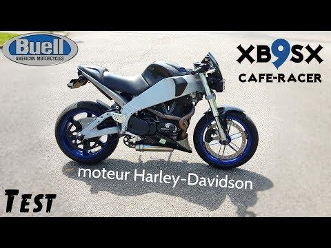 """Tout est bizarre sur cette moto 😍 J'ADORE """"buell XB9SX"""""""