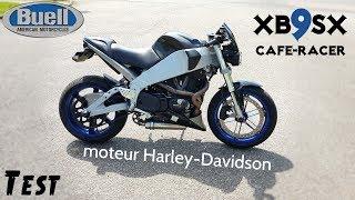 """""""Test"""" Tout est bizarre sur cette moto 😍 J'ADORE """"buell XB9SX"""""""