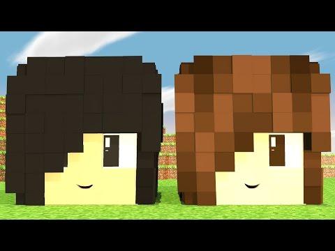 Mundo da Imaginação -  NOSSAS CABEÇAS GIGANTES #65 - Видео из Майнкрафт (Minecraft)