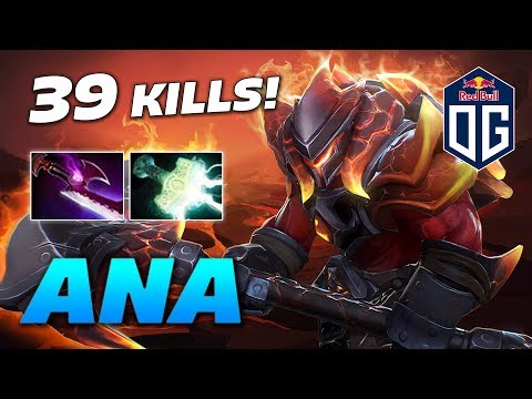 ANA AXE EPIC 39 KILLS | Dota 2 Pro Gameplay thumbnail