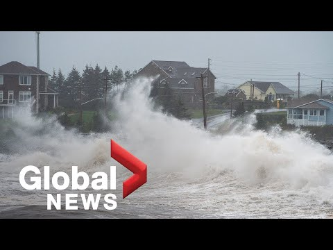Assessing the impact of post-tropical storm Teddy on Nova Scotia