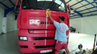 Kamion polírozás