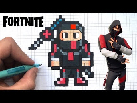 Dessin Facile Ikonik Pixel Art Fortnite Youtube