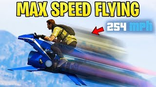 GTA Online: How to Get MAX SPEED While FLYING on the Oppressor Mk2 (Super Speed)