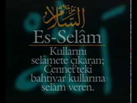 Allahn 99 Ismi Esmal Hsna