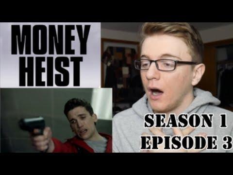 Money Heist Season 1 Episode 3 - REACTION!! (Re-Upload)