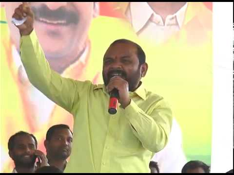 Nannuri Narsi Reddy Speech At Gajwel Prajaporu 15.02.2017