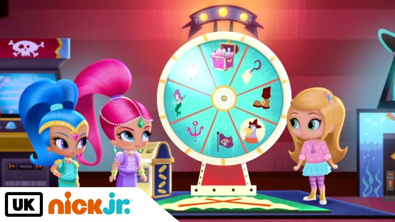 Shimmer And Shine Game On Nick Jr Uk Youtube