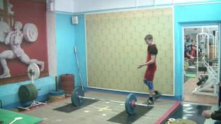 Потёмкин Вадим, 16 лет, вк 56 Рывок 70 кг