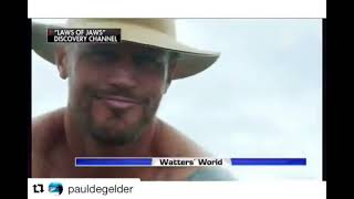 PAUL DE GELDER - SHARK WEEK'S LAWS OF JAWS! BLOOD IN THE WATER
