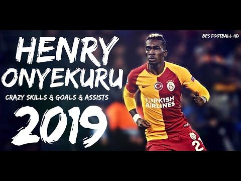 Henry Onyekuru ● Galatasaray - Crazy Skills \u0026 Goals \u0026 Assists - 2019 HD