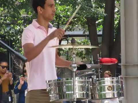 Latin Breeze- Santana Review Band. ottawa at the World Exchance Plaza.