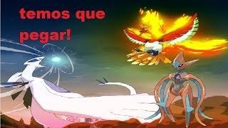 Pokémon Fire Red - Capturando Lugia,Ho oh e Deoxys