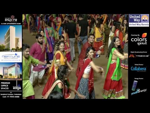 United Way Baroda - Garba Mahotsav By Atul Purohit - Day 8 - Live Stream