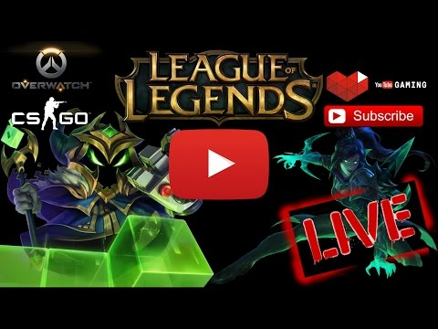 [LiveStream]  LEAGUE OF LEGENDS | RANKED + URF - GOLD DIVISION