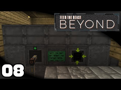 FTB Beyond - Ep. 8: Extreme Reactor & Enderman Farm