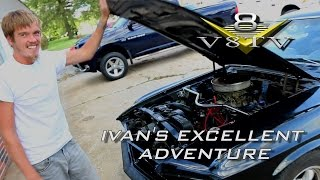 Ivan's Excellent 1969 Mustang American Road Trip Adventure Video V8TV
