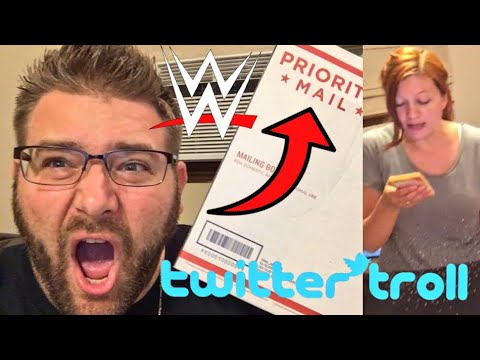 A WWE SUPERSTAR SENT ME MAIL!! TWITTER PROFILE PRANK ON HEEL