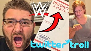 A WWE SUPERSTAR SENT ME MAIL!! TWITTER PROFILE PRANK ON HEEL WIFE!