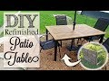 DIY Refinished Patio Table | Trash to Treasure