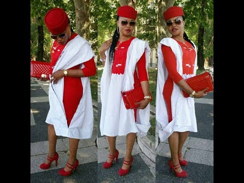 AGBADA STYLES FOR THE LADIES