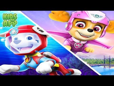 PAW Patrol Pups Take Flight VS PAW Patrol Sea Adventures - Game for Kids by Nickelodeon