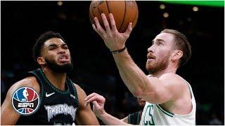 Gordon Hayward scores 35 in Celtics' win vs. Timberwolves | NBA Highlights