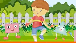 Shapes, Shapes Everywhere | Nursery Rhymes & Songs for Children I Animated I Little Mee Rhymes