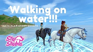 WALKING ON WATER IN SSO!!!! | Let's Play Story Quests | StarStable Online