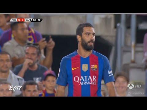 Arda Turan vs Sampdoria (Pre Season) (10/08/2016) 720p HD by EC17