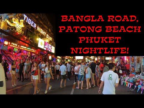 Phuket Bangla Road, Patong Beach Nightlife! 2020 (HD)
