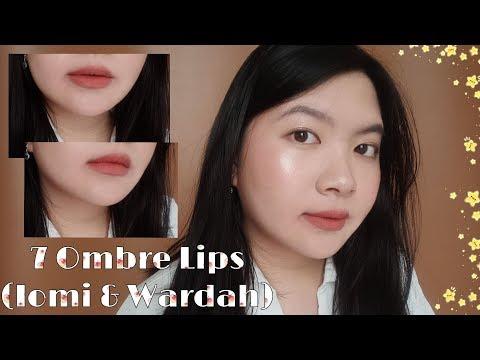 7-ombre-lips-pakai-iomi-lipcream-dan-lipstik-wardah