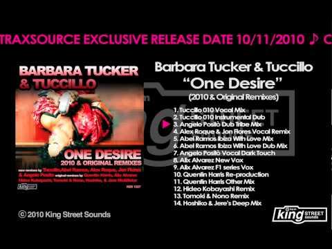 """Barbara Tucker & Tuccillo -""""One Desire""""(Angelo Positò Dub Tribe Mix)"""