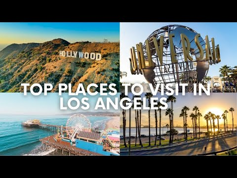 Los Angeles Weekend Travel Vlog | Top Places To Visit in LA