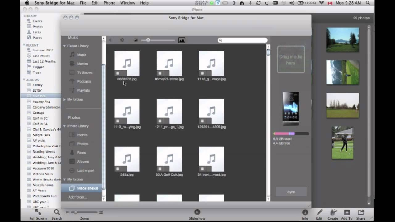 Method 1. You can copy songs in iTunes and then paste to Sony Xperia Phone