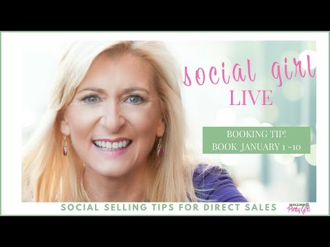 How To Book January Parties: Social Girl Live Replay - Episode 10