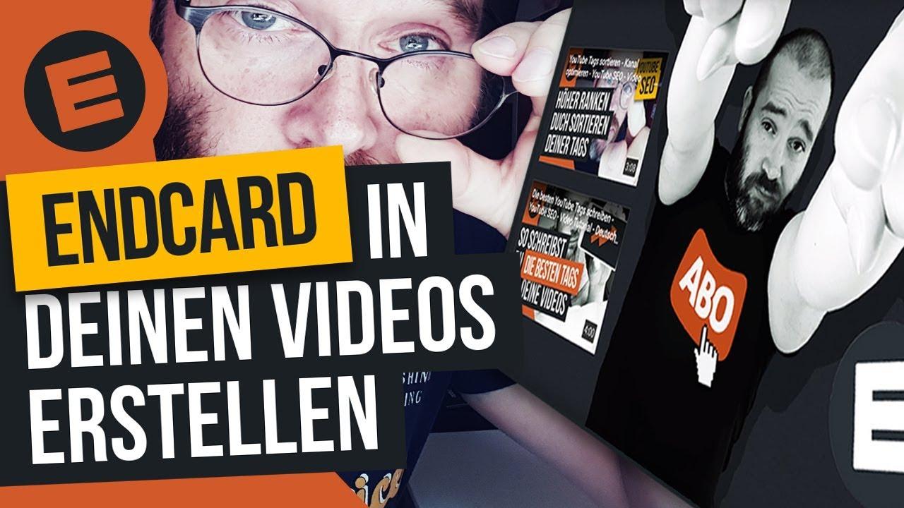 Abspann Endcard Erstellen Fur Deine Videos Auf YouTube